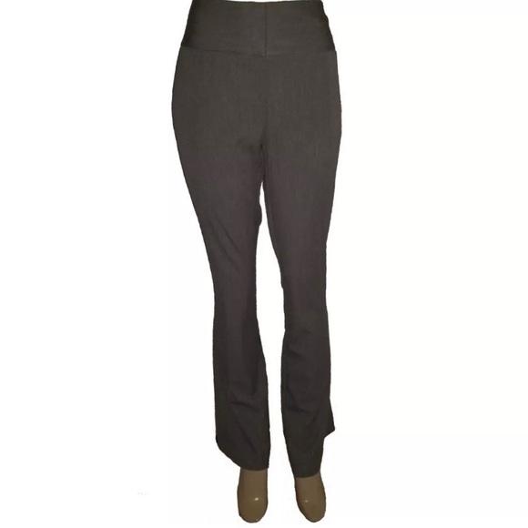 b79565b472 INC Gray Bootcut Dress Work Pants Slacks 12